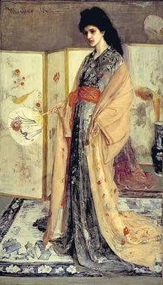 La Princess du Pays de la Porcelaine, 1863/64.        James McNeill Whistler