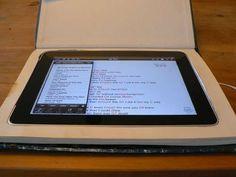 iPad book case