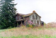 Abandoned Farm House by John R. Stewart