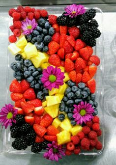 Fruit tray fruit platter
