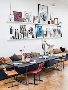 Overstuffed | Creative Floating Shelves Designs To Inspire Your #Shelfie