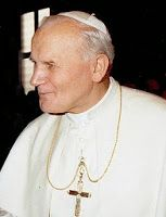 Today with the Saints October 22: Pope Saint John Paul II • Activity: Write a play about this saint to perform with your family.