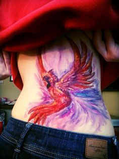 Cardinal Watercolor Tattoo Cardinal sharpie tattoo by