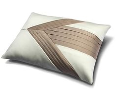 Arrow Pleat Cushion | Aiveen Daly