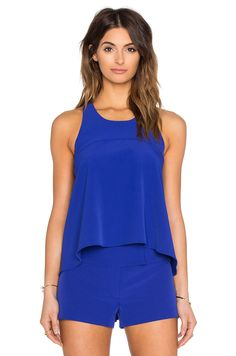 MILLY Trapeze Top. #milly #cloth #dress #top #shirt