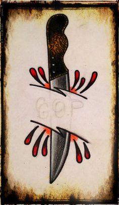 Bread knife tattoo flash http://breadmakerrecipes.net/bread-maker/best-bread-maker-bread-machine-reviews/