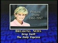 CNN Breaking News: Princess Diana's Death 8/31/97 Part 2