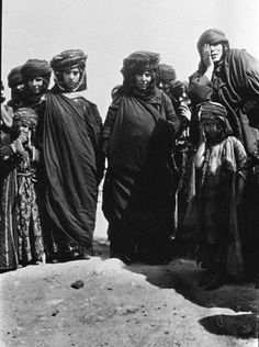 vintage everyday: Old Photos of North African Women