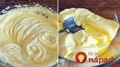 Výborný recept na krém, ktorý sa hodí do každej jednej domácnosti. Môžete s ním plniť sušienky, zákusky, torty alebo ho podávať len s ovocím.