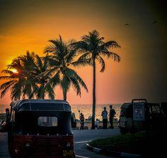 Sunrise in Colombo Sri Lanka #VisitSriLanka #lka