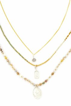 Chan Luu African Opal Three Strand Necklace…..Absolutely Beautiful!!  Gals LOVE Chan Luu!!