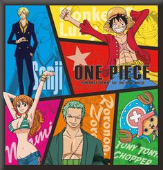 One Piece (poster) One Piece World, One Piece 1, One Piece Anime, One Piece Personaje Principal, The Pirate King, Zoro, First Love, Geek Stuff, Straw Hats