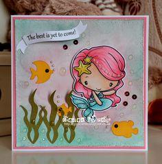 The Greeting Farm Pop's Cards: Mermaid