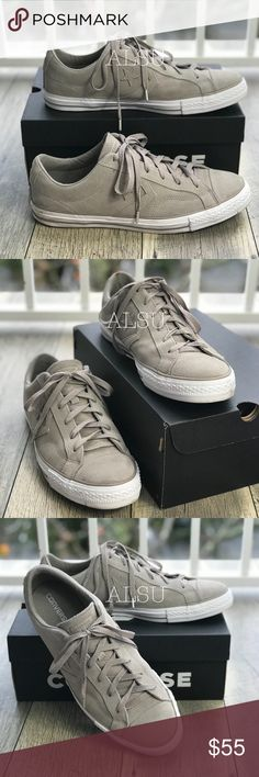3b70096d0d5 Converse Star Player OX Malted Beige W AUTHENTIC Brand new with box. Price  is firm! The back of right sneakers has 2 small dots of different color  Price was ...