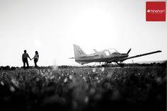 Pennsylvania Engagement Photographer: Airplane with Alison & Kevin » Rhinehart Photography