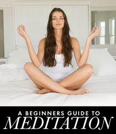 Beginners guide to meditation via @Daily Makeover