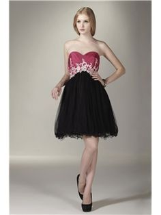 Wonderful A-Line Mini Length Sweetheart Sasha's Prom/Homecoming Dress