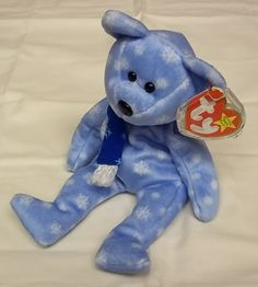 Jakemart — Ty Beanie Babies 1999 Holiday Teddy -- Used 89a923112dca