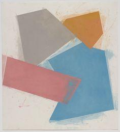 "pastel on paper, 33-7/8"" x 30-3/4"" (86 cm x 78.1 cm), © 2010 Joel Shapiro / Artists Rights Society (ARS), New York"