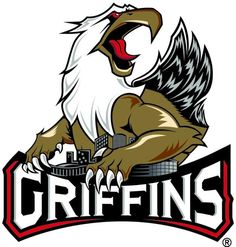 Grand Rapids Griffins - Hockey Sports Embroidery Logo in 4 sizes - Hockey Logos, Sports Team Logos, Hockey Rules, Sports Teams, Grand Rapids Griffins, Griffin Logo, American Hockey League, Hockey Birthday, Detroit Red Wings
