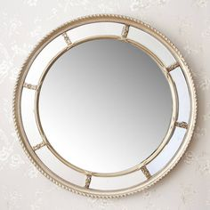 lucia round decorative mirror - Round Decorative Mirror
