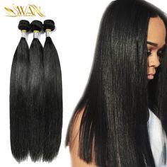 Mink Brazilian Virgin Hair Straight 9A Unprocessed Virgin Brazilian Straight Hair Extension 3 Bundle Deals Remy Human Hair Weave -  http://mixre.com/mink-brazilian-virgin-hair-straight-9a-unprocessed-virgin-brazilian-straight-hair-extension-3-bundle-deals-remy-human-hair-weave/  #HairWeaving