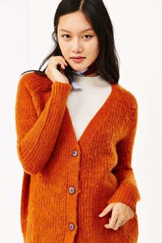 BDG Ellie Everyday Cardigan - Urban Outfitters