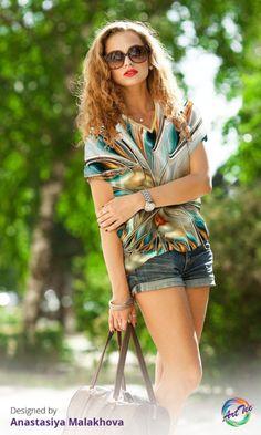 Stock up on the perfect layering tee for Fall! www.oarttee.com/ #oarttee #alloverprint #backtoschool #fashion AnastasiyaMalakhova