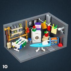 Legos, Lego Furniture, Lego Creative, Lego Sculptures, Micro Lego, Amazing Lego Creations, Lego Craft, Lego Robot, Lego For Kids