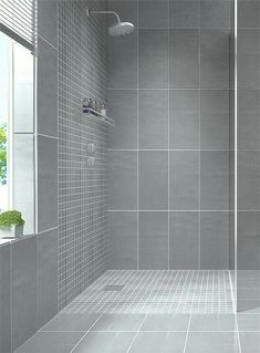Sleek Gray Vertical Stacked Wall Tile Daltile Showscape 12x24 Wall