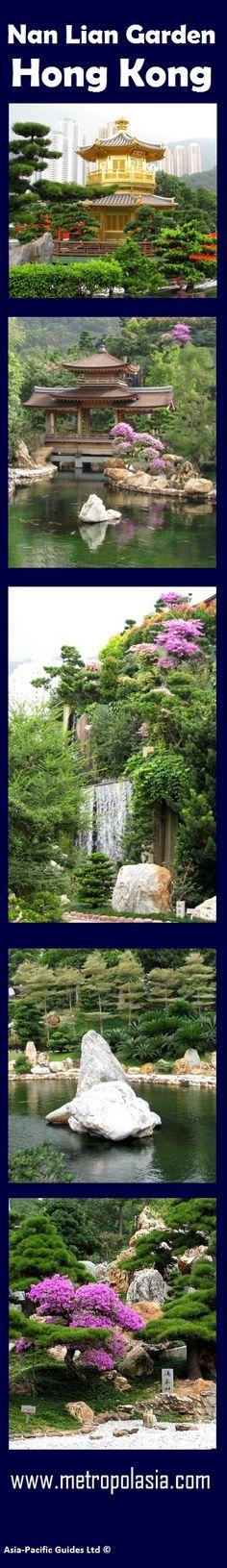 Beautiful Nan Lian Garden in #Kowloon, Hong Kong. Make sure you don't leave Hong Kong before you visited it!
