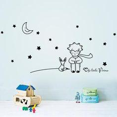Décoration pour une chambre d'enfant : Sticker Petit Prince ! Simple à poser et à retirer Venez découvrir tous nos stickers sur notre site en cliquant sur l'image #Sticker #Enfant #DecorationIntérieur #StickerMural #DecorationEnfant