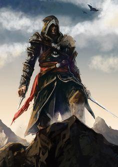 Assassin Creed Revelation Fanart by tantaku.deviantart.com on @deviantART