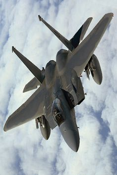 Glenn mentions this jet in I Loved That About Her. He loves airplanes. #F15