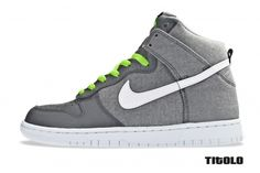 Nike Dunk High Wolf Grey/White-Cool Grey.