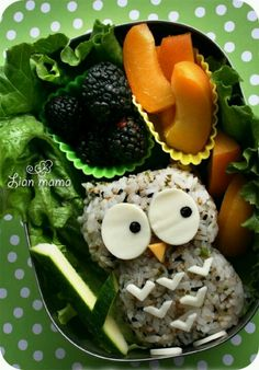 Creative food.
