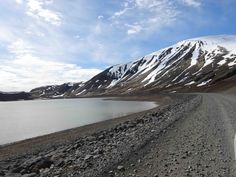 On the gravel road heading towards Borgarnes from Thingvillir.  May 2016.  Photo by  Susan Singer. www.susansinger.com Iceland In May, Iceland Pictures, Mount Rainier, Singer, Mountains, Places, Travel, Beautiful, Viajes
