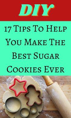 Holiday Cookie Recipes, Holiday Cookies, Holiday Baking, Christmas Baking, Christmas Goodies, Christmas Candy, Christmas Treats, Holiday Treats, Baking Basics