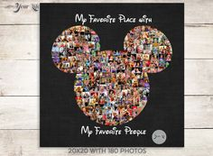 Dit item is niet beschikbaar Disney World Vacation, Disney Vacations, Disney Trips, Disney World Christmas, Mickey Mouse Christmas, Disney Photo Album, Mickey Mouse Decorations, Shape Collage, Focus Images
