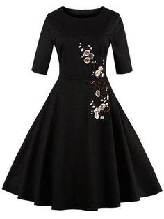 short vintage inspired prom dresses