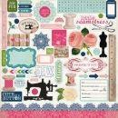 Carta Bella - Sew Lovely - Element Stickers