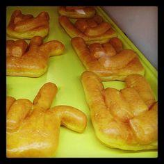 Sugar attack at Austin's Donut Taco Palace on North Lamar #UT #Longhorns #Hookem