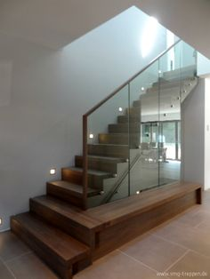 entrance hall - stairway lighting photo by #smgtreppen Mehr