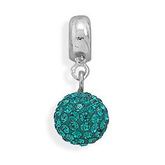 Assorted Color Crystal Ball Charm Beads by jewelrymandave on Etsy, $39.95