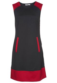 Anna Field Etuikleid - black/red