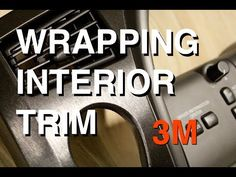 How to Vinyl Wrap Your Interior/ On a Scion TC - YouTube
