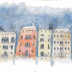 VENEZIA #venezia #palazzidivenezia  #illustration  #lauramichieletto