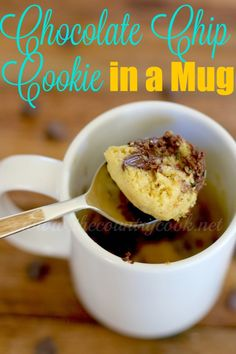 The Country Cook: Chocolate Chip Cookie in a Mug