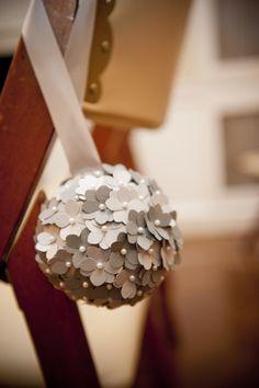 29 best topiary round ball decorations bouquets pomander images diy pomander balls paper hydrangeas kissing balls for wedding decor mightylinksfo