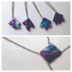 Super gifts bff diy ideas friendship necklaces Ideas Informations About Super gifts bff Bff Necklaces, Best Friend Necklaces, Best Friend Jewelry, Small Necklace, Delicate Necklaces, Bff Gifts, Best Friend Gifts, Gifts For Friends, Collier Best Friends